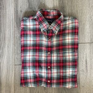The Arrow Company Plaid Flannel Shirt